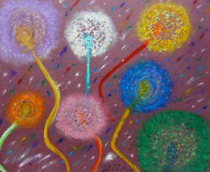 Dandelions by Britta Jensen