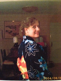 O'Bon season in Japan: sporting my favourite yukata